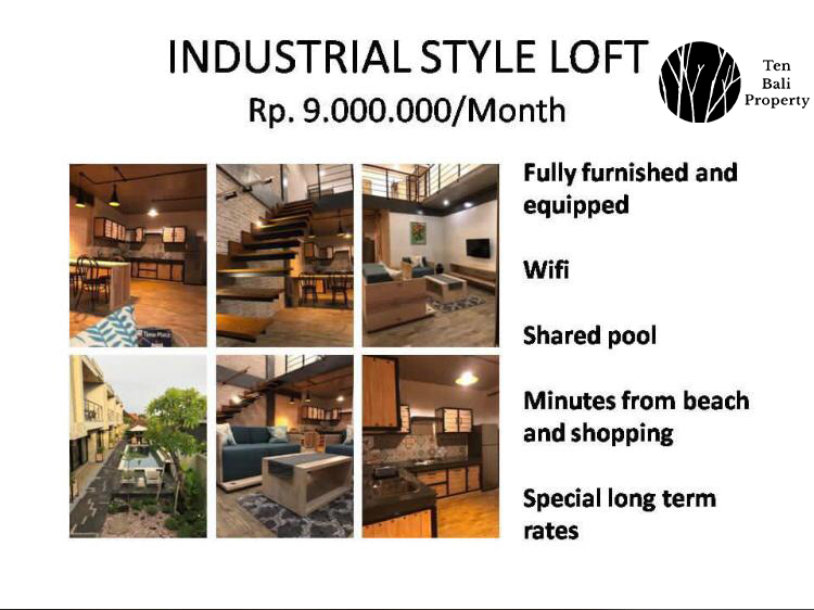 Industrial Loft-style Living in Sanur