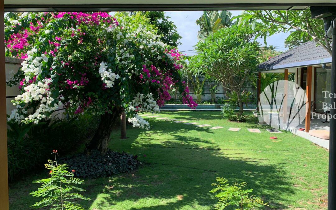 Lovely 2-bedroom Villa for Yearly Rent Danau Poso Sanur